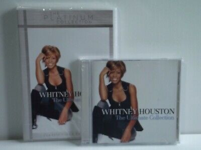 Whitney Houston  Greatest hits/The Ultimate Collection 1 x cd  sealed sent 1st