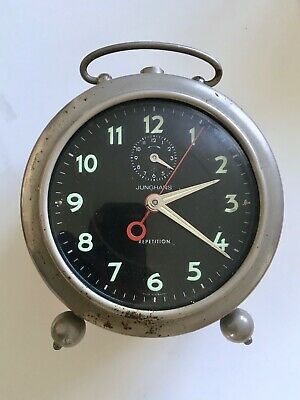 Junghans Repetition Alarm Clock 1950s? Needs Attention