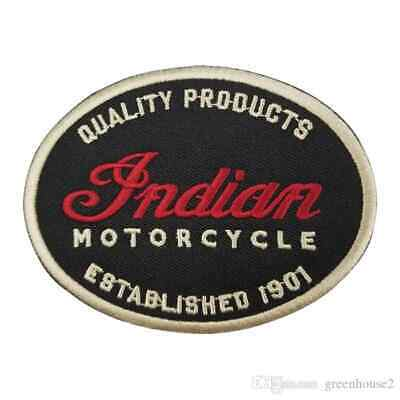 Indian Motorcycle Oval Sew Or Iron On  Patch