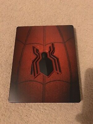 Spiderman Homecoming Blu Ray Steelbook Marvel Action Zavvi UK Release