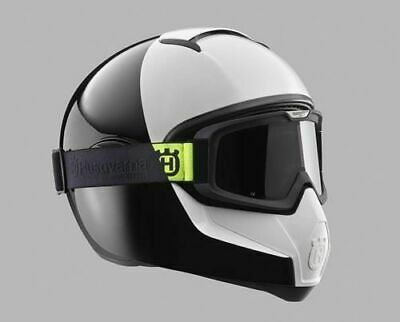 Husqvarna Genuine Shark Pilen Motorcycle Crash Helmet Goggle Frame Black New