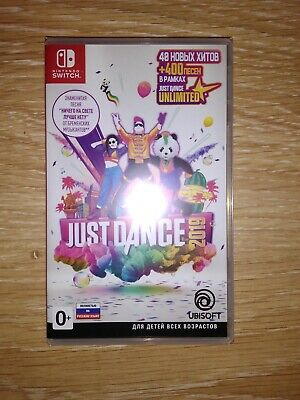 Just Dance 19 Nintendo Switch Standard Edition 2019 NEW Free Shipping