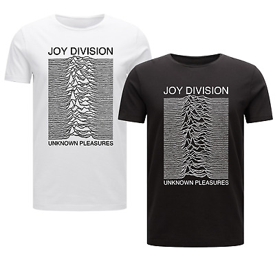 Joy Division Unknown Pleasures - Mens Music T-Shirt Factory Records Vintage Gift