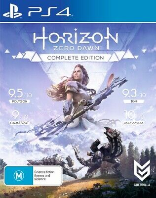 Horizon Zero Dawn Complete Edition (PlayStatio  - PlayStation 4 game - BRAND NEW