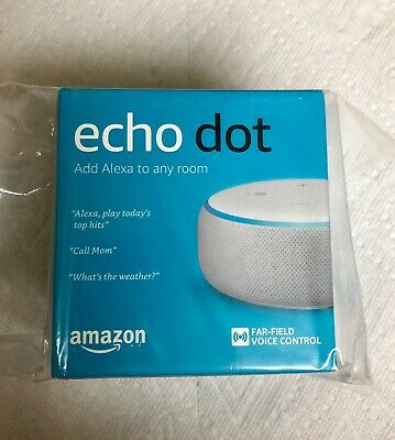 Amazon Echo Dot 3rd Generation Smart speaker with Alexa - White Brand New