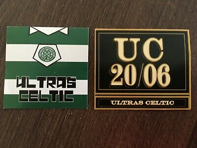 green brigade style ultras celtic stickers