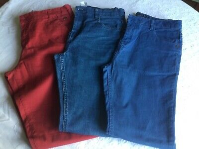 3 pairs Boys trousers - age 14 years - great condition