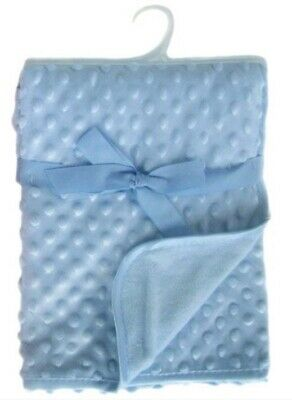 Baby Boy Soft Blue Bubble Blanket💙