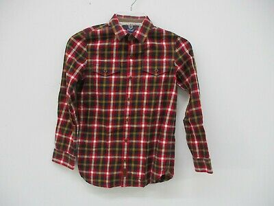 Baker By Ted Baker Boys Plaid Shirt Size 10