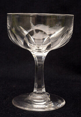 Late Georgian or early Victorian champagne glass
