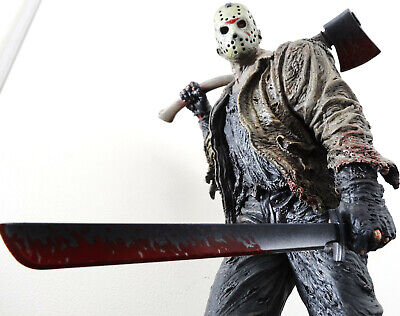 Sideshow Jason Voorhees Exclusive Statue Figure Bust Friday The 13Th Maquette
