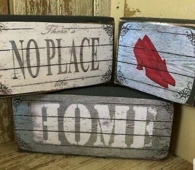 There/'s no place like home caravan novelty sign