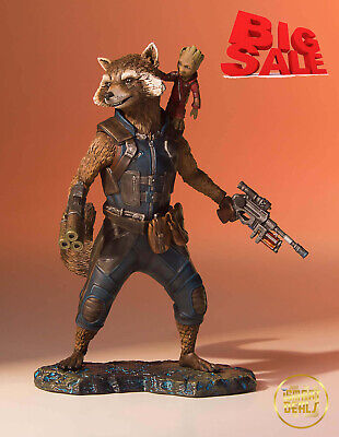 New Certified Gentle Giant Marvel Guardians of the Galaxy 2 Rocket Groot Statue
