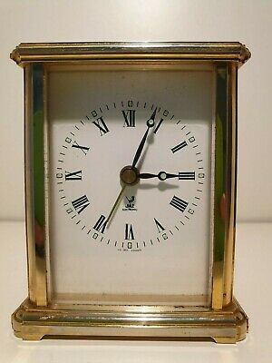 French Carriage Jaz Electronic  Clock