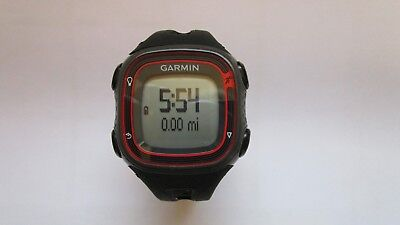 Garmin Forerunner  GPS Running  Sport Watch & Charger  Black / Red
