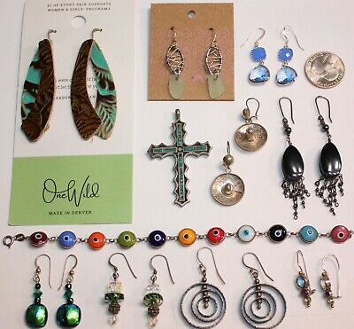 VINTAGE to NOW FUN, YET STUNNING, STERLING SILVER LOT w/11 ITEMS in EXC COND!!
