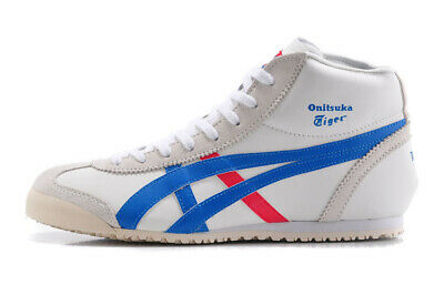 Mens Womens Onitsuka MEXICO Mid Runner Tiger Sneakers Casual Shoes Leather ASICS