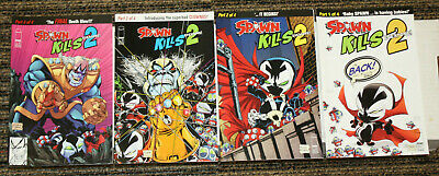 Image Spawn Kills 2 #1-4 COMPLETE SET - ALL A Covers - McFarlane - Baby Spawn!