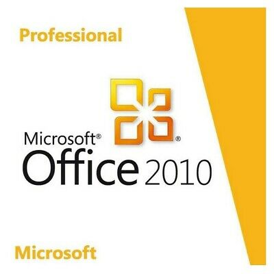 Microsoft MS Office 2010 Professional Plus Pro Plus Software Key Email Download