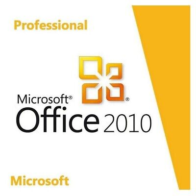 Microsoft Office 2010 Professional Plus Pro Plus Software Key Email Download