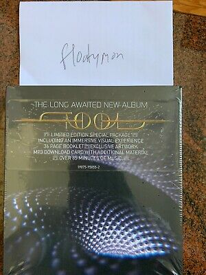 """Tool Fear Inoculum CD Deluxe Edition Limited Tri Fold + 4"""" HD Screen Ships Now"""