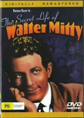 The Secret Life of Walter Mitty  - Danny Kaye - New Region All DVD