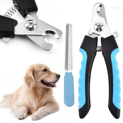 Dog Nail Pet Cat Claw Clippers Steel Clipper Tool Grooming Stainless Safe