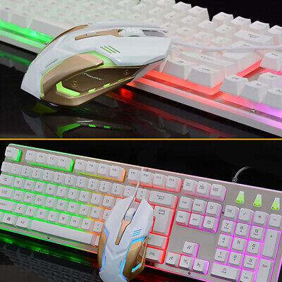 Wireless Gaming Mouse/Keyboard and Mouse Set Desktop Laptop Home/Office PC Gamer