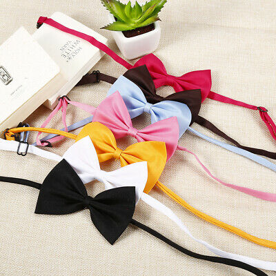 50 Pcs Cute Wholesale Pet Dog Puppy Necktie Bow Tie Ties Collar Grooming Out Lot