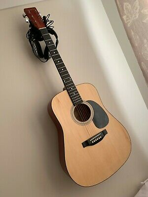 Full Size 6 String Steel Strung Acoustic Guitar by Elevation