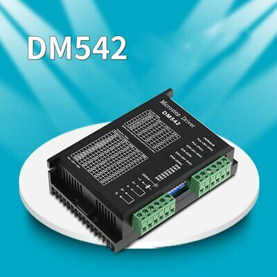 Digital Stepper Motor Driver 1.0-4.2A/20-50VDC For Nema 17 23 24 Stepper DM542