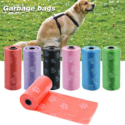 NEW Pet Waste Refill Bags Portable Dog Cat Doggy Poo Poop Pooper Scooper Toilet