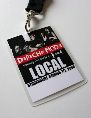 Depeche Mode - Backstage Pass / Stockholm Touring The Angel Tour 7-7-2006 LOCAL