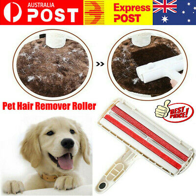 AU Pet Hair Remover Roller Self Cleaning Dog&Cat Hair Remover Fur Removal Roller