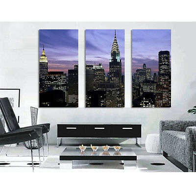 Modern Wall art X-LARGE.Gallery Wrap. Ready to hang. 3 panels 120x80cm Special