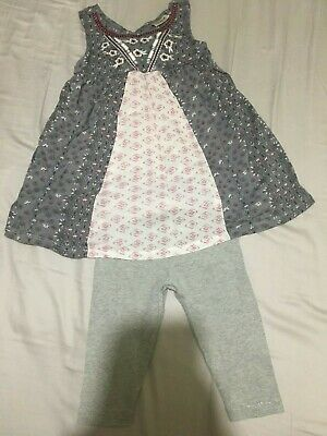 Next Summer top and cropped leggings - Age 3 - Grey - outfit/set - holiday
