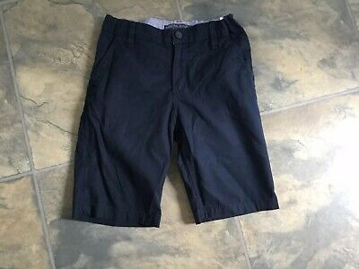 Boys Navy Blue Chino Shorts From H&M Size 10-11 Years Wedding Holiday