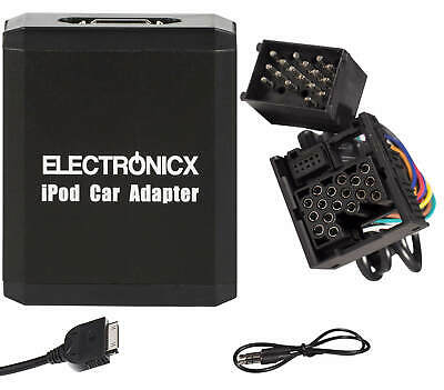 Adapter AUX für iPhone 5 6 7 8 XR iPod iPad Lightning für BMW Rundpin Welchser