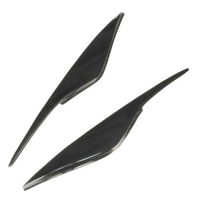 Eyebrows Light Brows Eyelashes Headlights Covers for Ford Mondeo MK4 Y4C1