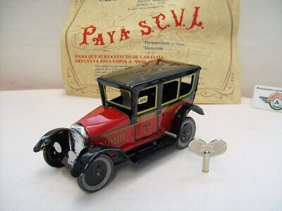 TAXI 1939 with spring mechanism, red/black, Paya (Made in Spain)