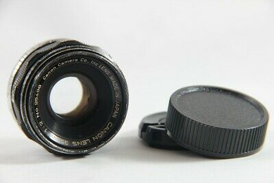 Excellent Canon 35mm f/2 f 2 Leica Screw Mount LTM L39 MF Lens from Japan
