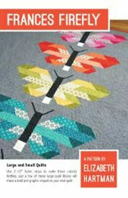 *NEW* Elizabeth Hartman - Frances Firefly - Large & Small Quilt Pattern
