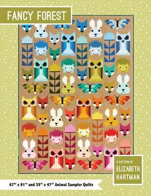 *NEW* Elizabeth Hartman - Fancy Forest - Quilt Sampler Pattern