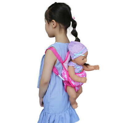 Accessories Baby Carrier Girl Education Kids Doll Backpack Gift Handmade Toy