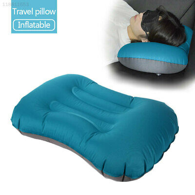 5A13 Inflatable Neck Pillow with Bundle Pocket Camping Pillow Travel Pillow