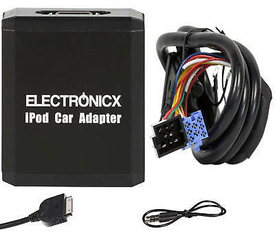 Adapter AUX für iPhone 5 6 7 8 XR iPod iPad Lightning für VW Seat Skoda Ford 8 P