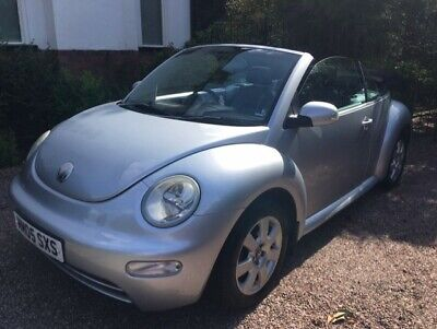 Beetle Cabriolet 2.0 petrol manual New MOT Alpine stereo with Bluetooth / AUX
