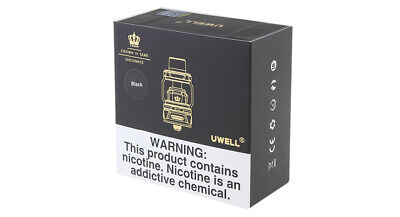 Authentic Uwell Crown 4 IV Sub Ohm Tank Clearomizer Black