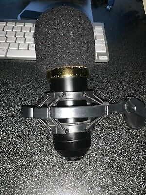 Condenser Microphone USB Audio Professional With Pop-filter Cover/ Mic Holder