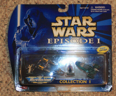 Star Wars Episode I Micro Machines 66500 Collection 1. New 1999. Pod Racer.